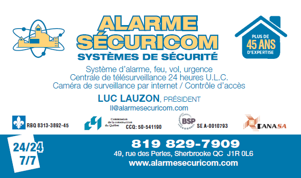 Alarme Securicom