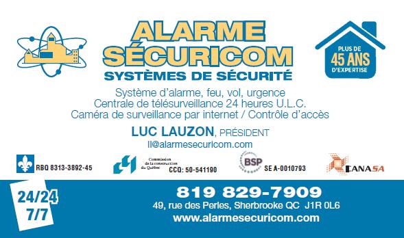Alarme Securicom