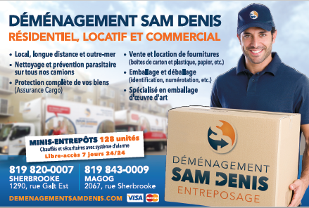 Déménagement Sam Denis