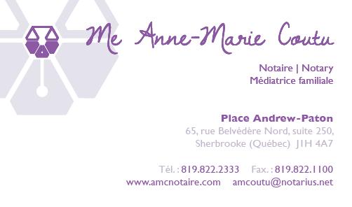 Me Anne-Marie Coutu