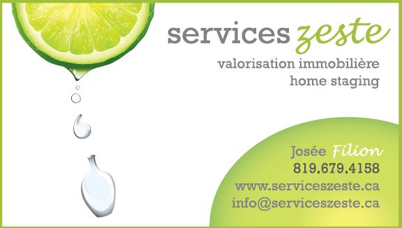 Josée Filion - Service Zeste